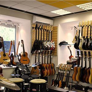 Музыкальные магазины Топков
